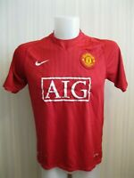 Manchester United 2007/2008/2009 Home Size M Nike football shirt jersey soccer