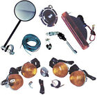 ATV Universal Quad Turn Signal Kit w/ Switch, Tail Light, Horn and Mirror NEW