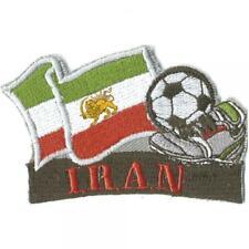 Aufnäher Applikation Aufnähwappen Flagge 8x5cm Wappen • IRAN ☆21603 ☆