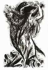 ENGEL des WAHNSINNS - Frans MASEREEL - L´ANGE de la FOLIE -  1947