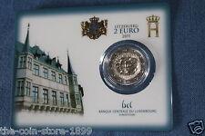 """2 Euro Luxemburg 2011 Coincard """" JEAN  """" Auflage 7,500 RAR!!"""
