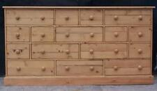 RECLAIMED SOLID PINE ANTIQUE STYLE 16 DRAWER MULTI CHEST we can make any size