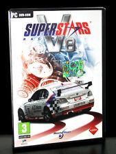 SUPERSTARS V8 RACING GIOCO USATO PER PC COMPLETO VERSIONE ITALIANA PAL 23307