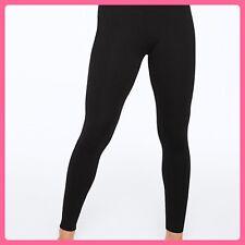 NEW Victoria's Secret PINK Yoga Leggings Cotton BLACK M Medium EveryDay Hot Gift