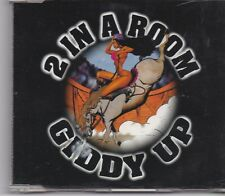 2 In a Room-Giddy Up cd maxi single Red bullet