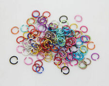 Lot 500/2000Pcs Aluminum Jump Rings Open Connectors For DIY Jewelry Accessories
