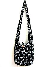 SUMMER BAG SLING SHOULDER ADVENTURE OUTFIT SKULL PRINT UNISEX MEN HOBO BOHO COOL
