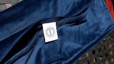 """(2) SURYA Velvet Pillow Covers Navy Blue 18""""×18"""""""