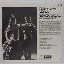 1967 黑膠唱片 LP Werner Müller And His Orchestra – Spectacular Tangos