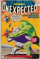 Tales of the Unexpected #40, DC Comics 1959 Space Ranger series begins VG-