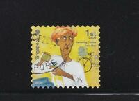 SINGAPORE 2013 1ST LOCAL DAIRY MAN 1ST PRINT (2013A) BOOKLET PANE 1 STAMP USED