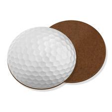 Golf Ball Coaster Drinks Mat - Funny Sport