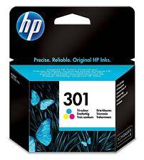 HP 301 - Cartucho de tinta Original HP 301 Tricolor para HP DeskJet, HP OfficeJe