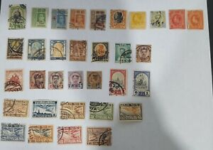 TAHILAND LOT OF STAMPS