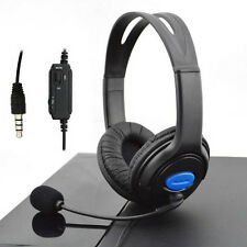 3.5mm Wired Gaming Headsets Headphones with Mic for Sony PlayStation 4 PS4 PC