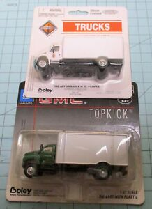 HO scale delivery trucks, Walthers, GMC Top Kick, IH model 4300.