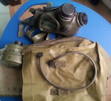 M85 Romanian GAS MASK, proper big filter type with  bag