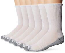 Fruit Of The Loom Work Crew Sports Trainer Boots Socks Reinforced Heel & Toe Lot