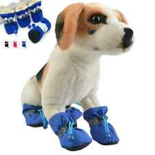 4Pcs Cute Pet Dog Shoes Anti-slip Rain Snow Boots Puppy Dog Sock Booties Protect