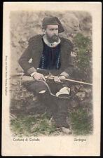 carte postale Sardaigne-costume de Teulada