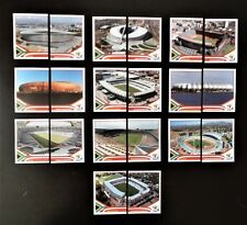 Panini FIFA World Cup South Africa 2010 Complete Set of Stadium Stickers
