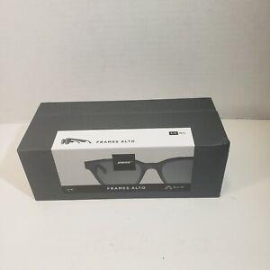 BOSE Frames ALTO S/M - Classic Angular Bluetooth Audio Sunglasses - Black