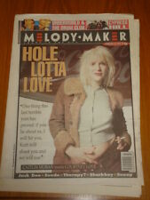 MELODY MAKER 1994 FEBRUARY 19 HOLE SUEDE CYPRESS HILL SNOOP