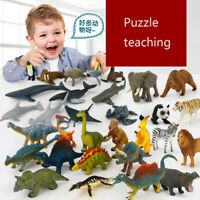 12Pc/Set Wild Animal Model Portable Sea World Simulated Learning Toys Kids Gifts