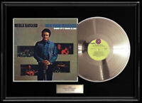MERLE HAGGARD OKIE FROM MUSKOGEE WHITE GOLD SILVER METALIZED RECORD VINYL LP
