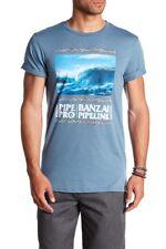 Volcom Men's XL Short Sleeve Tee T-Shirt Surf Pipeline Hawaii Banzai Pipe Pro