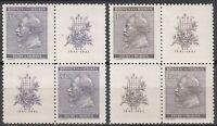 Stamp Germany Bohemia B&M Mi 073-4 Sc 54-5 Block 1941 WWII Dvorak Composer MNH