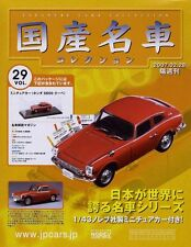 [BOOK+MODEL] Japanese Cars Collection #29 Honda S600 coupe AS285C 1/43 Norev