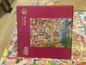 "Heye comic cartoon jigsaw puzzle ""Boardwalk"" by Robert Crisp - 1000 pieces"