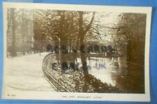 2 RP Postcards c.1910 THE LAKE WARDOWN PARK LUTON BEDFORDSHIRE