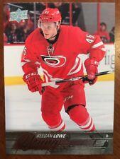 2015-16 UD Hockey Series 1 #246 Young Guns Keegan Lowe Pack Fresh