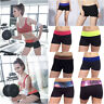 Womens Stretchy High Waist Fitness Yoga Club Dance Summer Mini Shorts Hot Pants