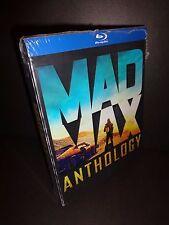 MAD MAX ANTHOLOGY- BLU RAY Box Set of 4 Mad Max movies with bonus DVD-MEL GIBSON