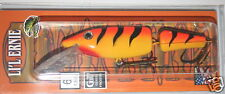 "6"" Jointed Little Ernie Musky Mania Pike Orange Tiger JLE-24 Drifter Tackle"