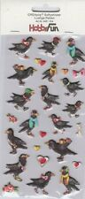Softy Stickers CREApop 3451-204 Auto-collants Corbeau Crow