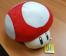 Super Mario Bros - Red Mushroom - 10 Inch Plush Toy