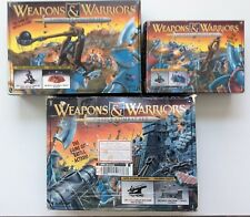 "RARE PRESSMAN GAMES ""WEAPONS AND WARRIORS "" GAME LOT 1994"