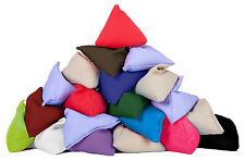 20 Pack Assorted Juggling Pyramid Bean Bags Practice Catching Play Triangular PE