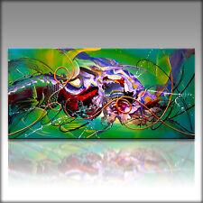 Vnartist / ORIGINAL 120cm x 60cm Abstrakt Gemälde Modern XXL Bilder 941