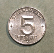 East Germany 5 Pfennig 1950-A Almost Uncirculated Coin