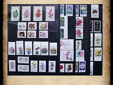 East Germany DDR GDR Topical Flowers Plants 98 Stamps MNH
