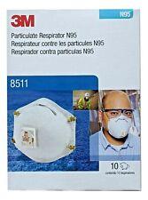 3M8511 NIOSH 2025 Expiry, Made in USA - Box of 10