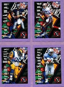 1995 CLASSIC NFL EXPERIENCE SUPER BOWL GAME set of 20 cards