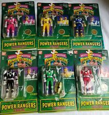 Mighty Morphin Power Rangers Action Figures 14 Items Vintage 90s Toys Lot Bundle