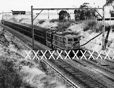 1971 LOCO 4638 NEWCASTLE FLYER Train Photo Sydney Railway NSWGR POSTAGEDISCOUNT