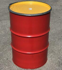 208 Liter Hobbock / Deckelfass Feuertonne gebraucht